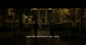 "Screen shot from ""The Social Network"" Trailer"
