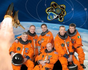Crew of STS-134 - the final flight of the Endeavour (courtesy of NASA)