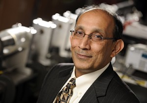 K. T. Ramesh, the Alonzo G. Decker, Jr. Professor of Science and Engineering in Johns Hopkins' Whiting School of Engineering, is founding director of the Hopkins Extreme Materials Institute. Photo by Will Kirk/Homewoodphoto.jhu.edu
