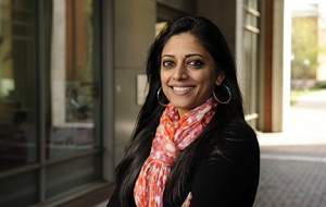 Sridevi Sarma, assistant professor of biomedical engineering at The Johns Hopkins University. Photo by Will Kirk/Homewoodphoto.jhu.edu