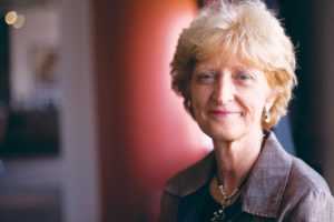 Dean-designate Ellen J. MacKenzie of the Bloomberg School of Public Health